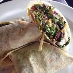 meal, vegetable, flatbread, sandwich wrap, food, dish, cuisine,