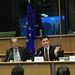 Petru Luhan impreuna cu europarlamentarul Jo Leinen (Germania)