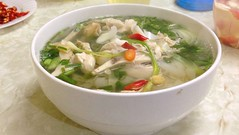 Pho ga (noodle soup with chicken), Hanoi