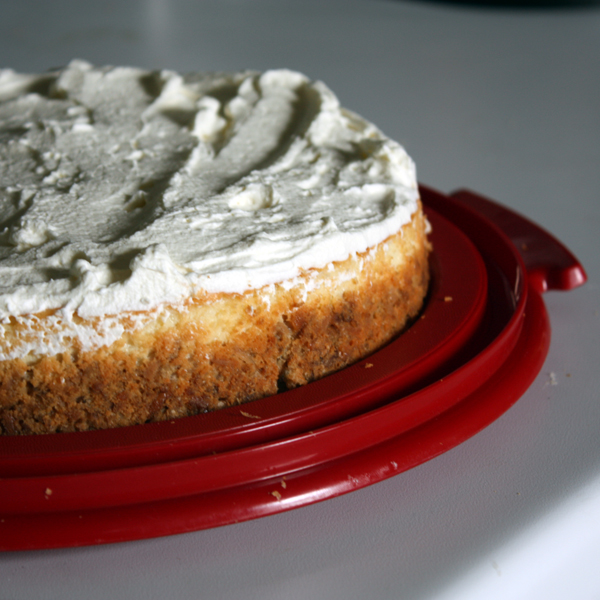 Triple Coconut Cheesecake: Too short