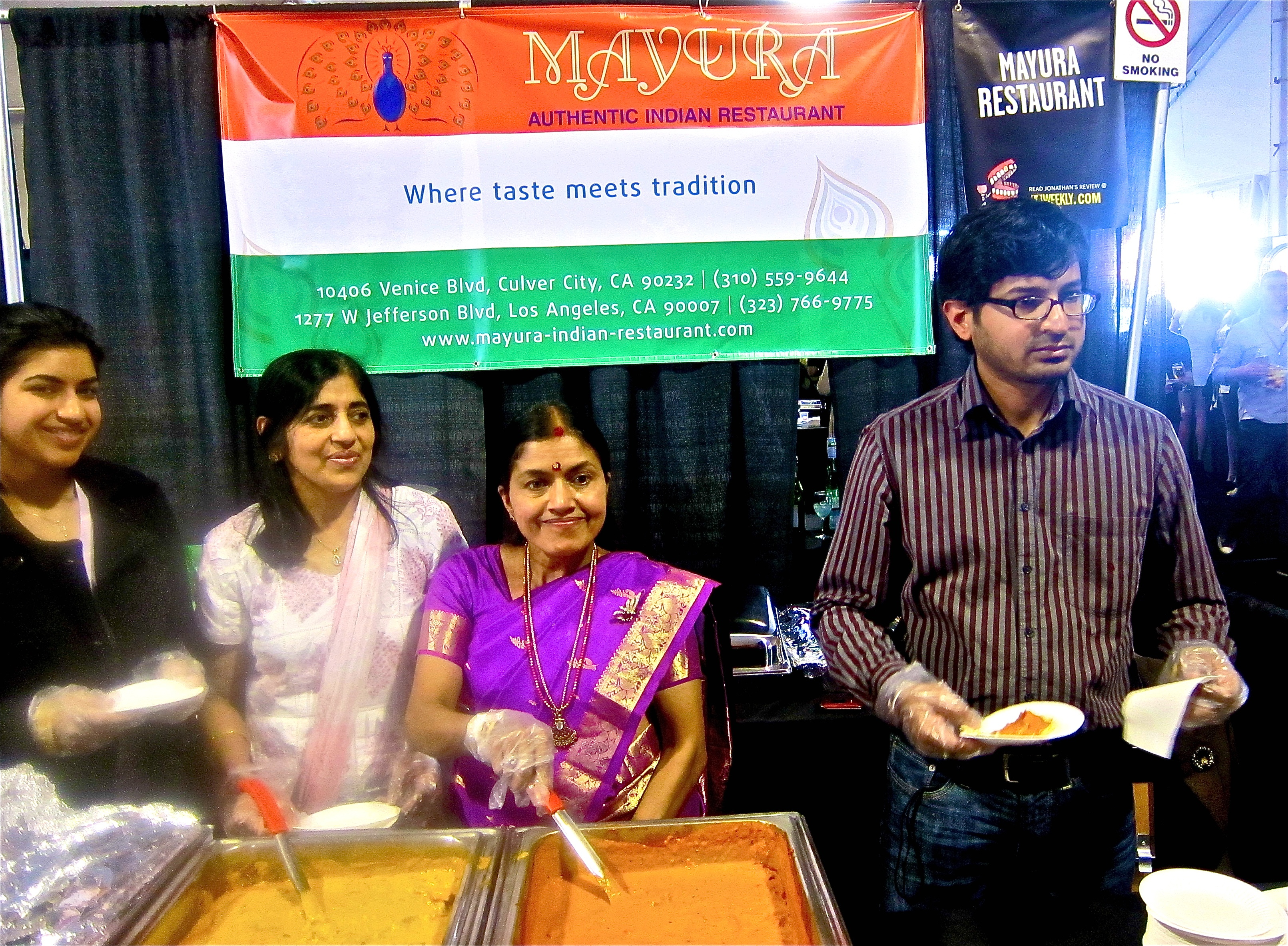 Mayura Indian restaurant in Culver City