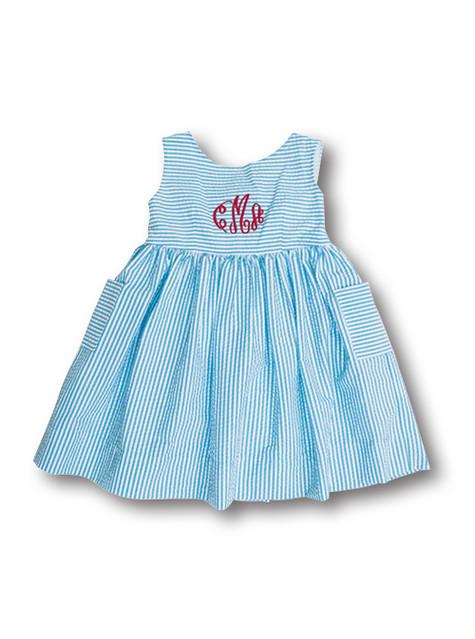 stripe dress front
