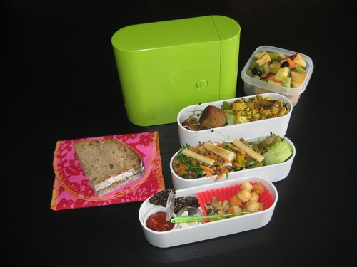 Messy Meatless Monday Bento #174
