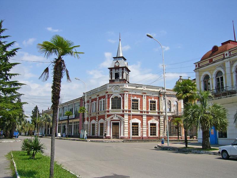 General store bldg., the main street, Gudauta