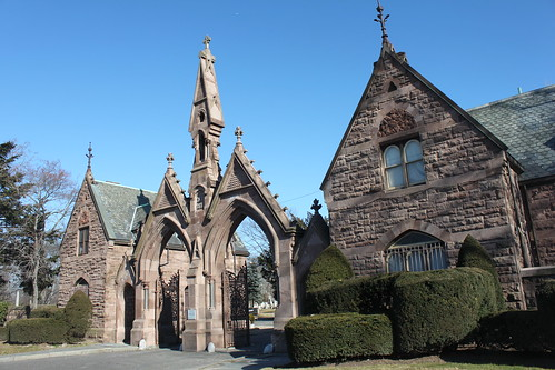 Mt. Pleasant Cemetery Gatehouse by joseph a