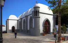 La Gomera - Church of Agulo