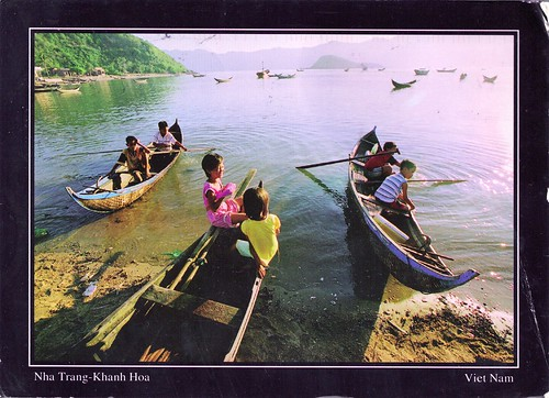 Children in Boats-Vietnam