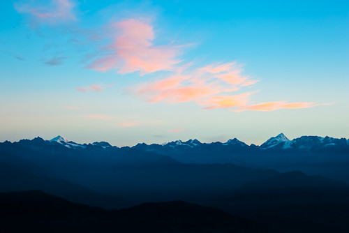 nepal nature landscape 日出 尼泊尔 纳加阔特