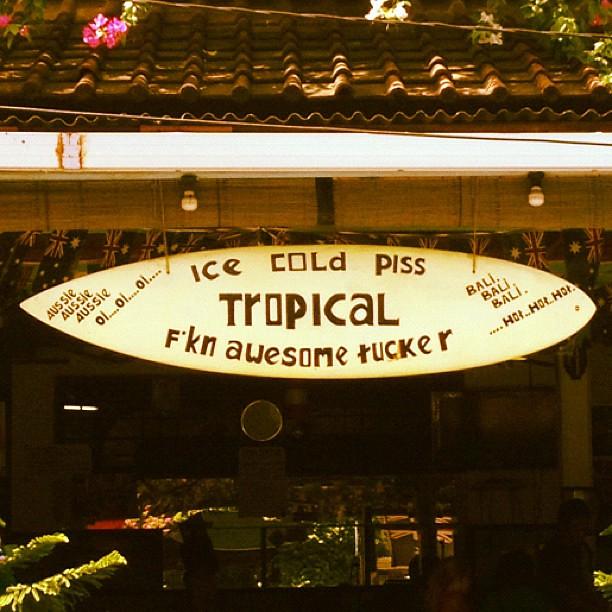 Keepin it classy in Bali