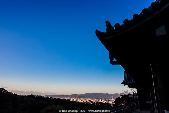 清晨的清水寺