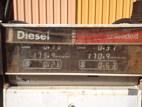 The cheapest fuel in Ivanhoe