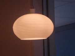 lamp, light fixture, white, lampshade, sconce, light, circle, lighting,