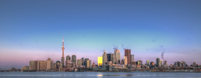 Toronto - Sunrise - End of Blue Hour