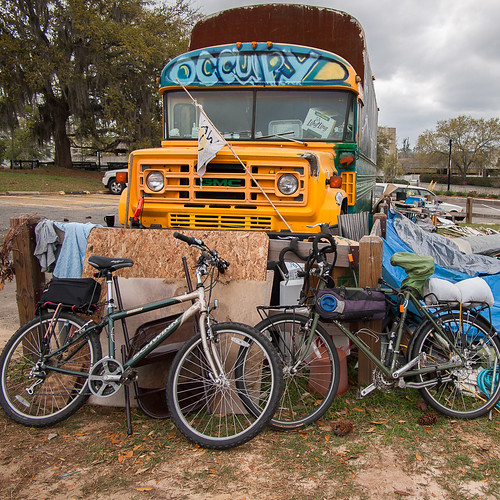 Big Yellow Bus - Occupy Tallahassee