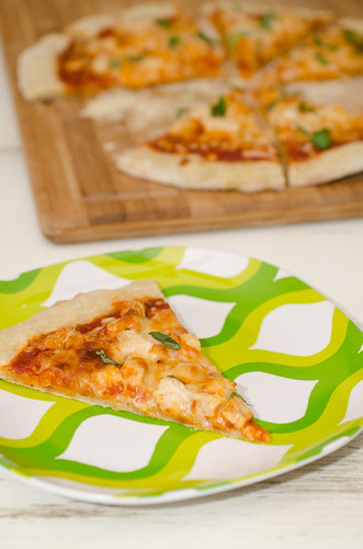 Parmesan Chicken Pizza 4
