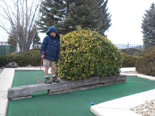 Project 365: 70/365 - Mini Golfer
