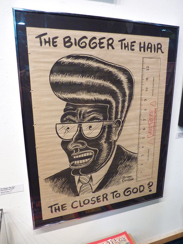 The Bigger The Hair The Closer to God by Michael Dougan