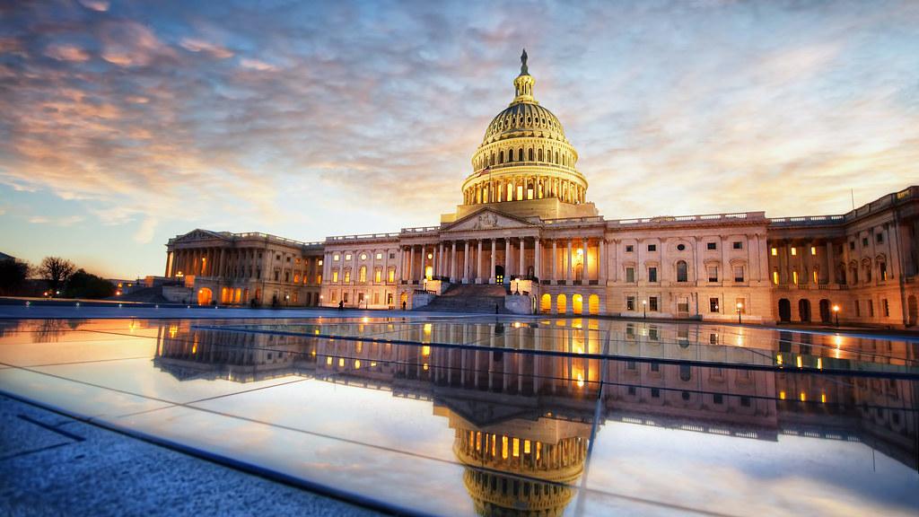 Капитолий на Капитолийском холме в США
