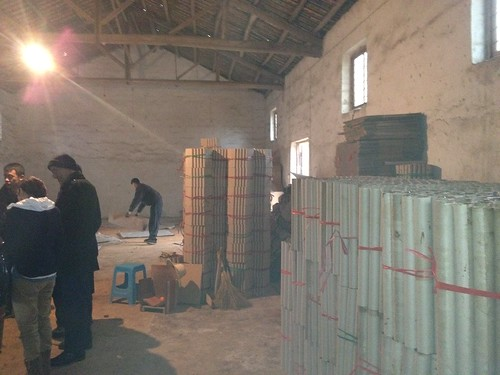 Firework Factory With Load Of Tubes- Epic Fireworks China Trip 2012