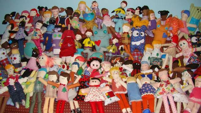 Brazil Doll Drive Donations 1