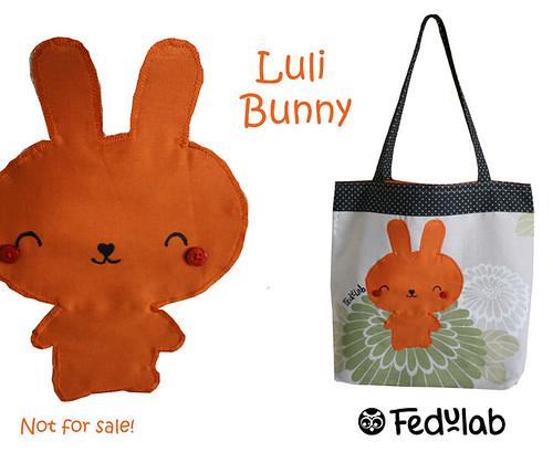 Tribute bag to luli bunny