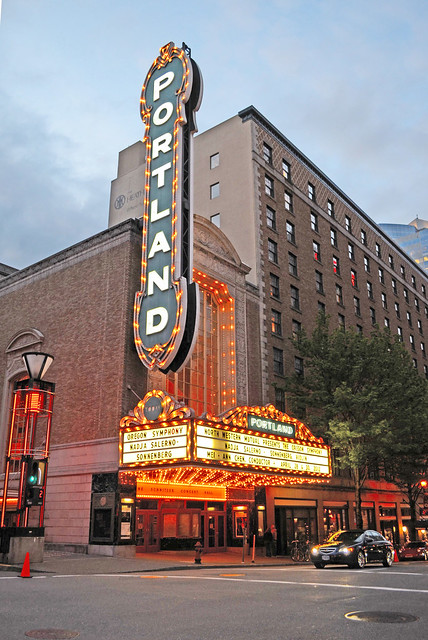 Downtown Portland Hotels Map