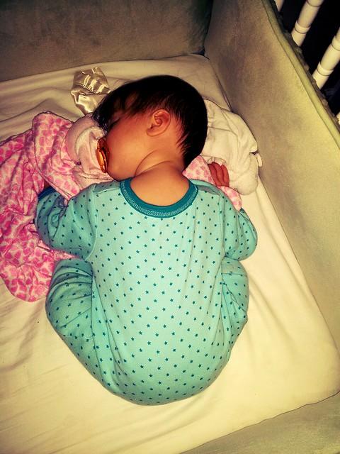 Ruthie sleeping
