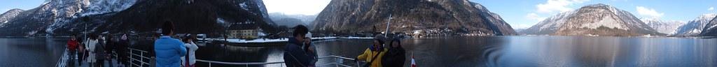 哈修塔特湖 360° 全景圖