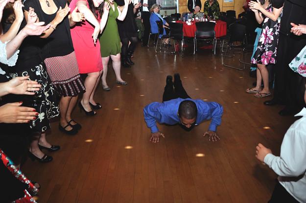Worm-dance