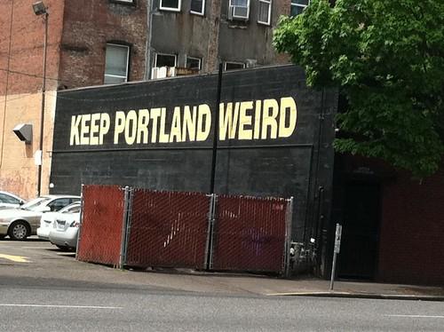 Weird Portland