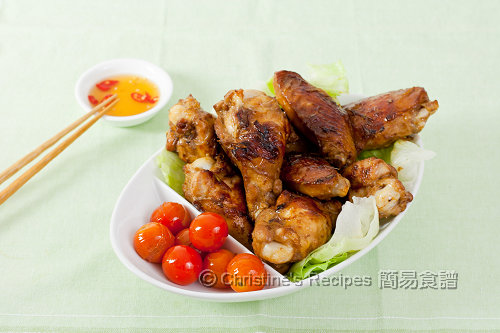 Pan Fried Lemongrass Chicken Wings02