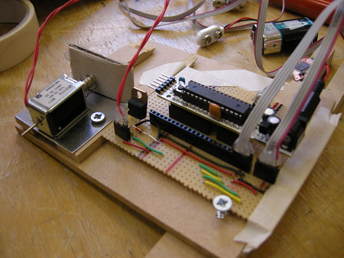 microcontroller and servo