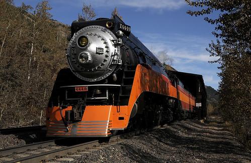 無料写真素材, 乗り物・交通, 電車・列車, 蒸気機関車・SL, サザンパシフィック鉄道号蒸気機関車