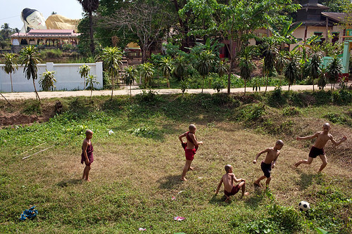 Football - Bago, Myanmar