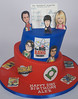 BC4196 - big bang theory cake toronto