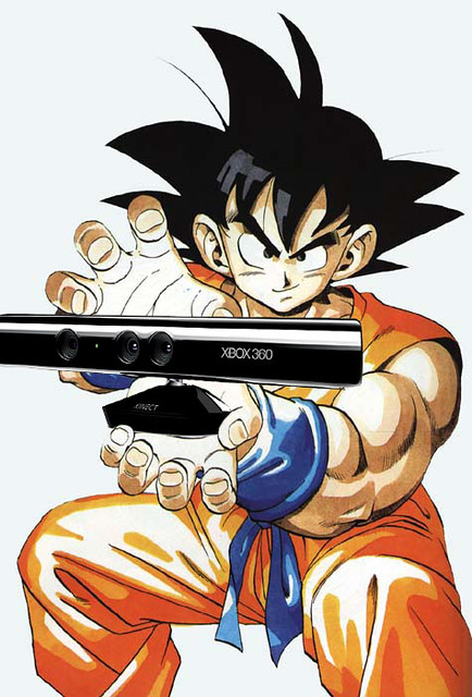 Dragon ball z for kinect spirit bombs your living room in for Dragon ball z living room