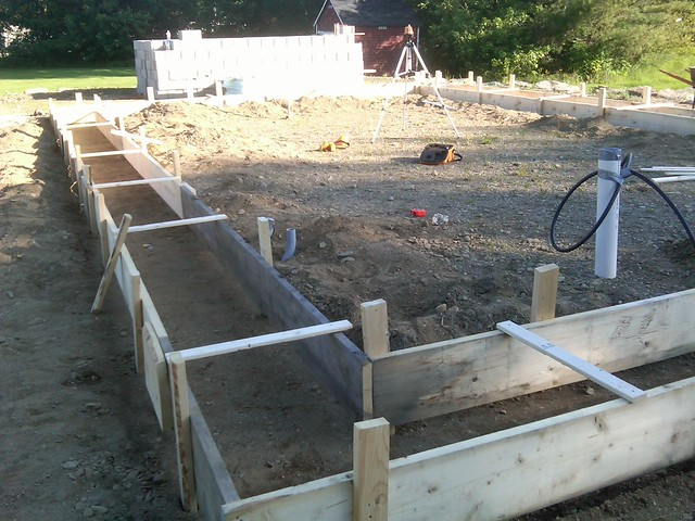 Our earth sheltered home construction and diy projects for How to build an earth sheltered home