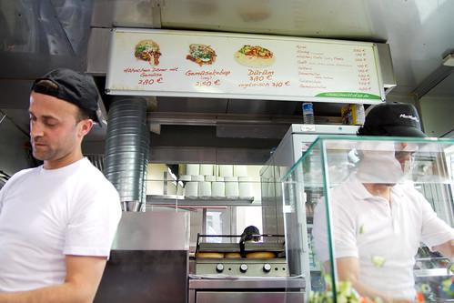 Mustafa's menu