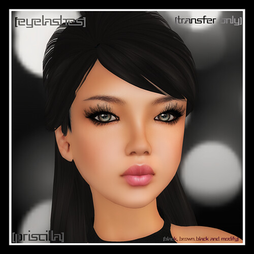 [mock] Priscilla Eyelashes @ Fashion Cache