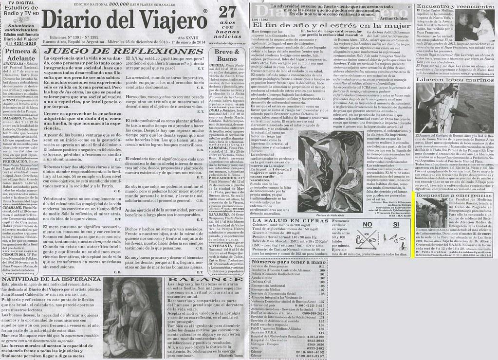 Diario del Viajero 25-12-13