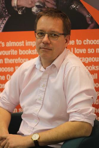 Tim Walker (Bookseller's Association) - London Book Fair 2014