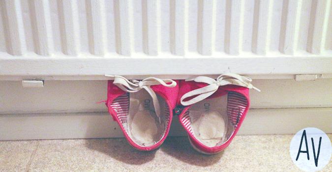 kengätpatterinvälissä