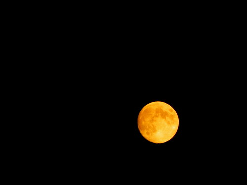 Facts The Moon: Orange Moon