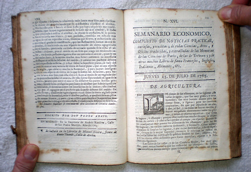 005-portada semanario  25 julio 1765