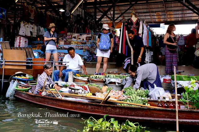Day 4 Bangkok, Thailand - Damnoen Saduak Floating Market 05