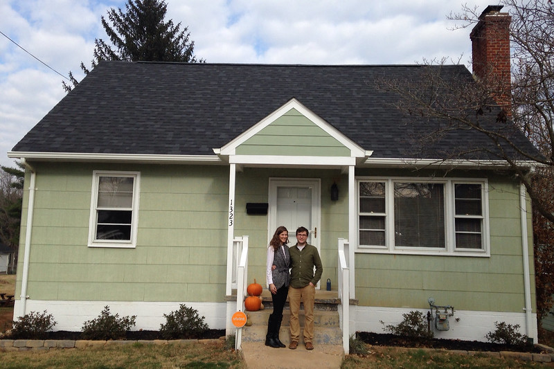 Day we bought the house