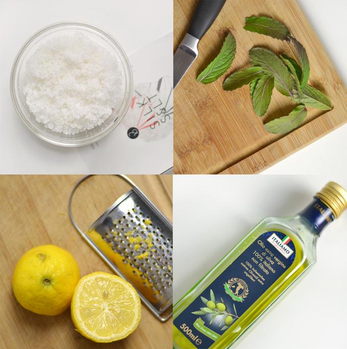 Lemon & Mint Seal Salt Scrub