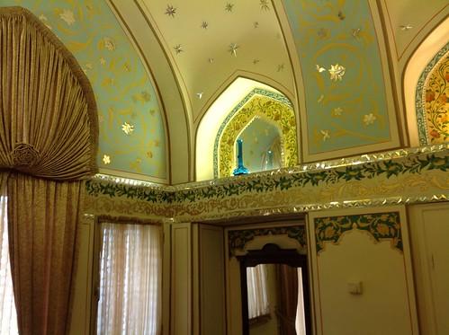 Iran hotelroom Abassi hotel Isfahan