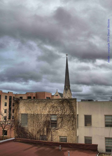 view 744ngrandavenue waukesha wisconsin sheldn sky cloud grey gray building architecture church steeple danielsheldon sheldnart copyrightdanielsheldon allrightsreserveddanielsheldon canon t5i allrightsreserved wi copyright sheldon danieljsheldon rebel eos license city cityscape