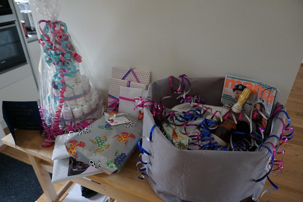Presentbordet växte eftersom - babyshower